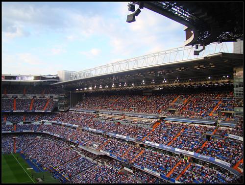 Lleno en Santiago Bernabéu