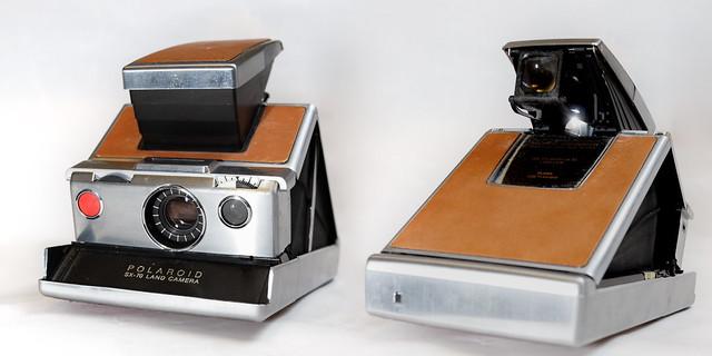 SX-70 land camera by David Tyner