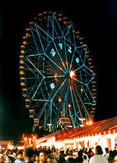 Texas Star Ferris Wheel, State Fair of Texas (StevenM_61) Tags: carnival usa night dallas texas nightshot unitedstates fair ferriswheel texasstatefair 1995 midway statefairoftexas fairpark