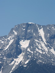 Volanic dike on Mount Moran, Grand Tetons NP (lreed76) Tags: 2006 mountmoran grandtetons wy volcanicdike