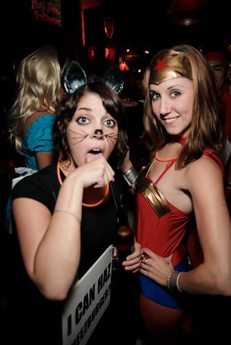 LolCat and WonderWoman