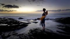 lever de soleil ii: San (thescatteredimage) Tags: ocean sea topv111 sunrise dawn topv555 topv333 canon20d sandy australia victoria topv777 thegreatoceanroad wyeriver sigma1022mm ngrad 1oct07