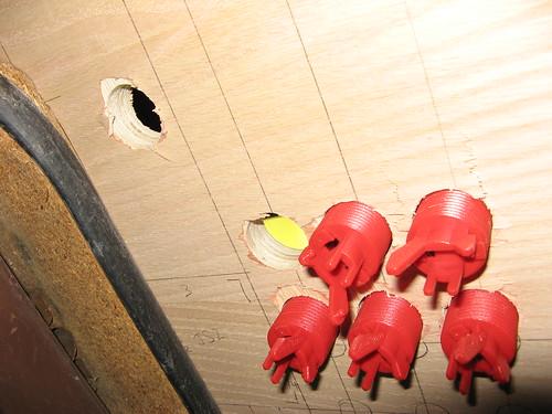 Control Panel Underside Detail