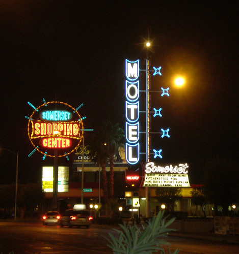 Somerset Shopping Center and Somerset Motel
