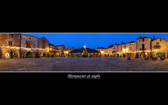 Monpazier at night Panorama (David Giral | davidgiralphoto.com) Tags: old blue sky chien david france english history architecture rural evening nikon war europe village searchthebest dusk cent dordogne villages medieval hundred hour entre loup years bluehour prigord d200 middle guerre et ans ages hdr heure bastide giral mdival monpazier magique nikond200 edwardi anglaise 18200mmf3556gvr entrechienetloup tthdr plusbeauxvillagesdefrance copyrightdgiral davidgiral pitorresque pitorresques ruraux