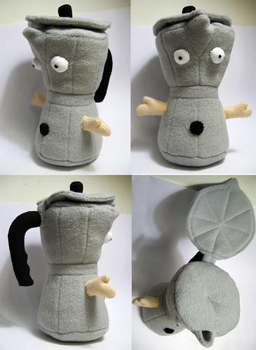 coffee pot plush