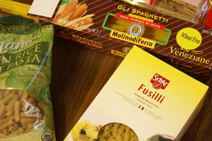 GF Pasta Taste Test