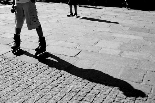 Roller Boots & Shadow