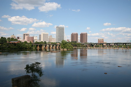 Downtown Richmond from Belle Isle