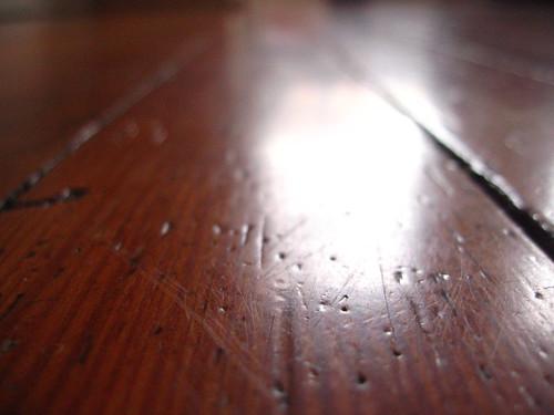 Hardwood Flooring Close-Up