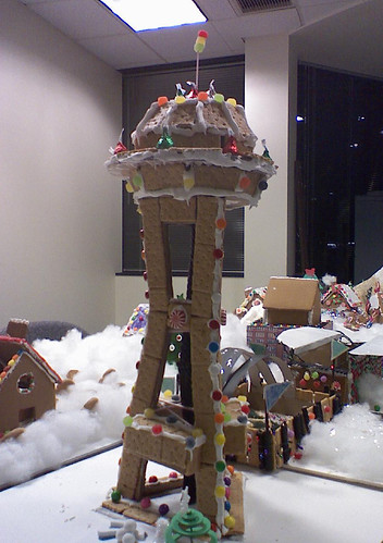 Gingerbread Houses - Space Needle by heath_bar.