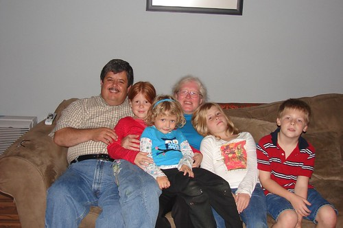 Rob, Denise and the Grandkids!