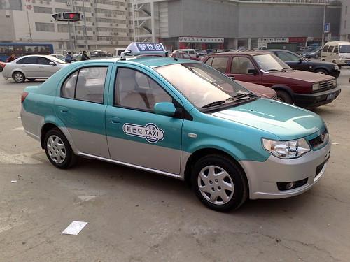 New Tianjin taxi