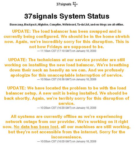 37signals outage 2