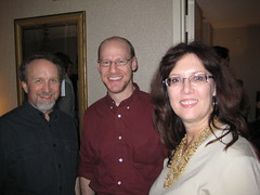 Michael Stackpole, Phil Plait, and Naomi