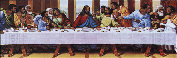 black-last-supper