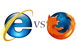 IE vs FIREFOX