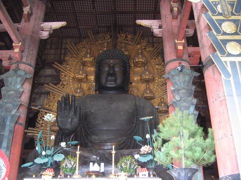 東大寺(大仏殿)-盧舎那仏像1