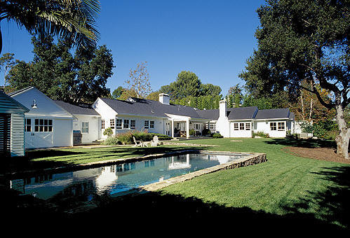 Michael Keaton Montana Ranch House