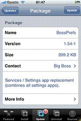 bossprefs 1.54 ispazio iphone ipod touch