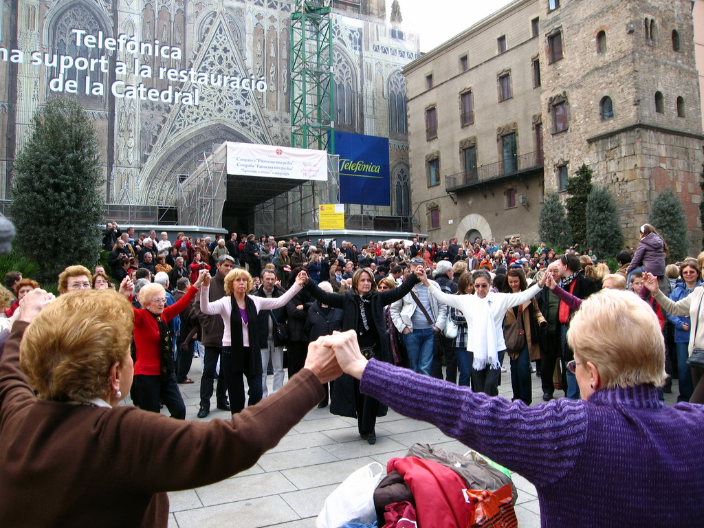 Cathedral of Barcelona - Sardana Dances