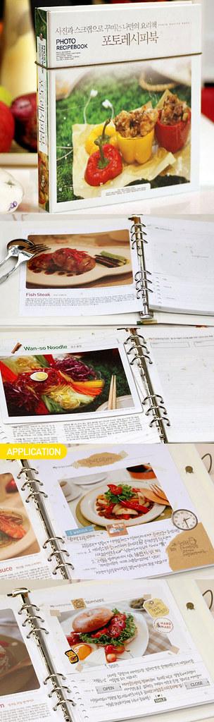 Photo recipe book