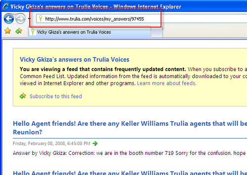 Trulia Voices RSS feed