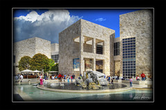 the getty #3 (Kris Kros) Tags: california ca usa building museum architecture modern photoshop photography la losangeles high dynamic contemporary arts socal stunning kris getty 2008 range hdr kkg cs3 3xp photomatix kros kriskros xxxxxxxxxxxxx kk2k malufet kkgallery