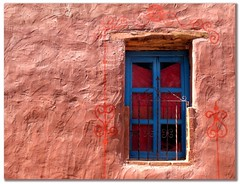 La ventana del artista (. M a r t @ . ) Tags: blue window argentina fotosencadenadas azul ventana decay textures texturas noa purmamarca jujuy quebradadehumahuaca mywinners mbm55