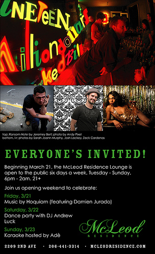 McLeod Residence Evening Programming