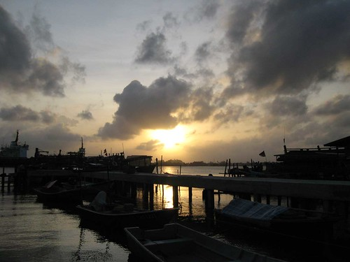 Pulau Duyung sunset
