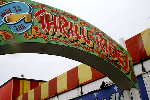 Eek! Thrill Rides at Brighton Pier