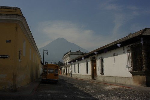 Volcan de Agua en Antigua