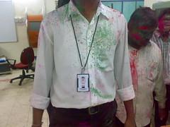Kiran's shirt (thecancerus) Tags: rangpanchami