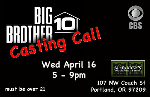 Big Brother Screen Portland