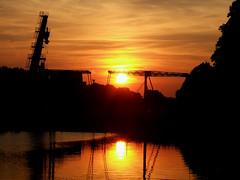 Sunset in Utrecht (Bart Weerdenburg) Tags: sunset red orange netherlands zonsondergang utrecht nederland zomer geel rood zon lombok oranje ooginal sojafabriek oudesojafabriek sojafabriekutrecht