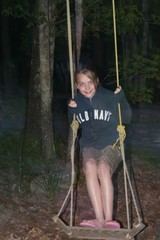 Jenna swinging