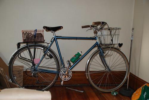 basket steel commuter schwinn wald lugged bikebasket veloorange