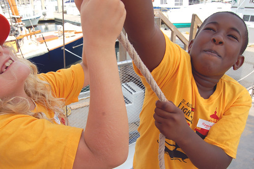 Young Explorers/ A New World Schooner Freedom Week 1
