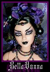 bellaface (plumaluna07@sbcglobal.net) Tags: werewolf vampire ooak gothic barbie