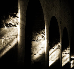 Momenti bui (LucaRam) Tags: light shadow church stone ombra chiesa bow column pietra arco luce colonna pieve platinumphoto platinumheartaward lucaramacciotti lucaram canoneos1000d saariysqualitypictures platinumpeaceaward pievedisanalessandroagiogoli
