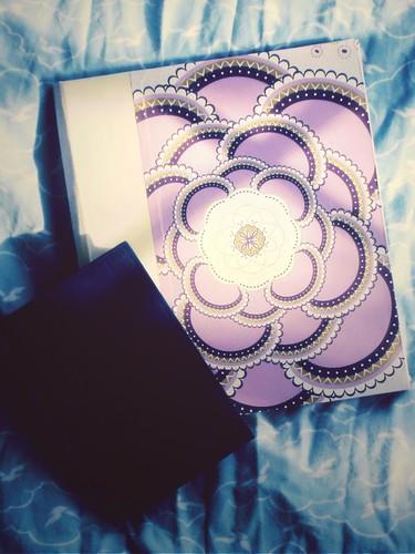 glowing journal