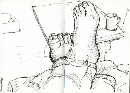 feet by Julie Oakley