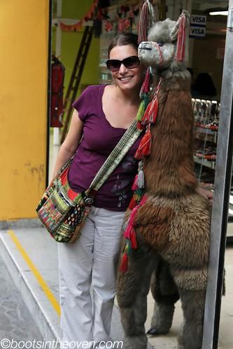 Me and my llama friend