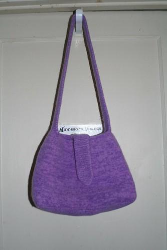 Lavender Haze felted