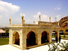 Babur's Garden- Mosque (From Afghanistan With Love) Tags: world travel afghanistan architecture garden muslim mosque kabul emperor islamic moghul babur zeerak safrang hamesha javaid