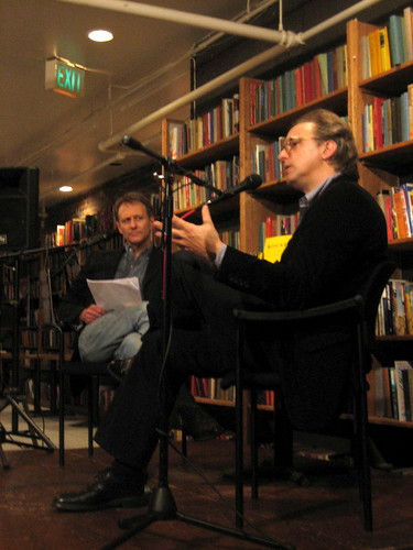 Gary Groth & David Michaelis, Elliott Bay Book Co., 11/07/07