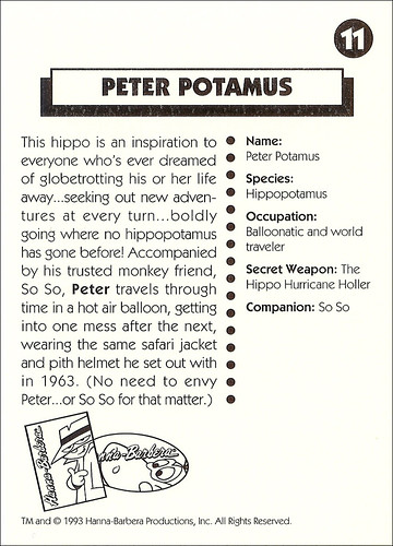 11B Peter Potamus