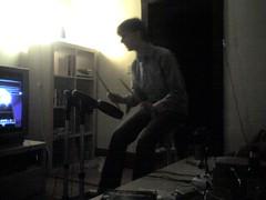 Drew as John Bonham (alist) Tags: cambridge drum alist cambridgemass rockband cambridgema alicerobison ajrobison drewharry
