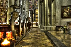 """church-pic"" for this sunday - ""maria am gestade"" part 1 (PIXXELGAMES - Robert Krenker) Tags: vienna wien building church architecture nikon catholic candle kirche architektur soe hdr sic lightroom blueribbonwinner athousandwords 3xp photomatix adobelightroom d80 nikkor18200 mariaamgestade hitmewithyourbestshot afsnikkor18200 rubyyyk justhitmewithyourbestshot unlimitedphotos byrobertk multimegashot"